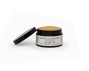board and batten sugar scrub